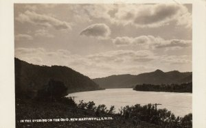RP: NEW MARTINVILLE , W.V. , 1910s ; Ohio River