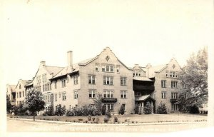 RPPC Kamola Hall Central College of Education Ellensburg WA Ellis 1940s Postcard