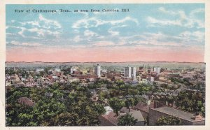 CHATTANOOGA, Tennessee, 00-10s; Bird's Eye View from Cameron Hill