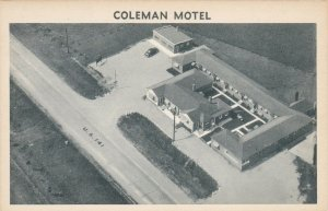 Wisconsin Coleman The Coleman Motel sk4779