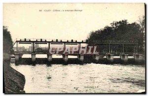 Old Postcard Caen nouvea dam