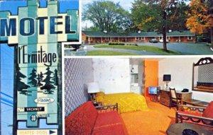 Sherbrooke Quebec -  Motel L Ermitage, 1888 Ouest King West, 1960s