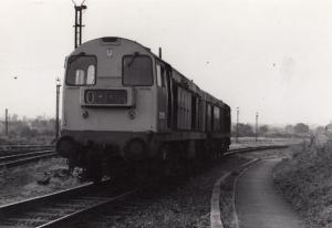 Toton Train Original 1970s Vintage Photo