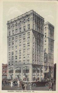 DANVILLE , Virginia, 1910s ; Masonic Temple