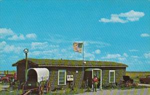 V A Kear's Nationally Famous Sod House Museum Colby Kansas