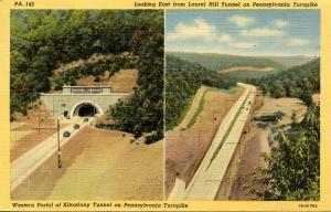 PA - Pennsylvania Turnpike. Kittatinny Tunnel and east of Laurel Hill Tunnel
