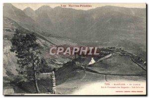 Postcard Old Bareges St Justin
