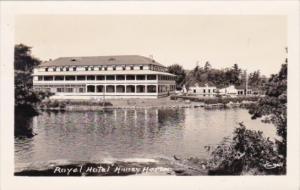Royal Hotel Holley Harbor New York Real Photo