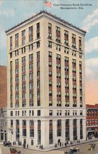 Alabama Montgomery First National Bnak Building 1918 Curteich