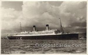 RMS Homeric Steamer, Steam Boat, Ship Ships, Postcard Postcards  RMS Homeric