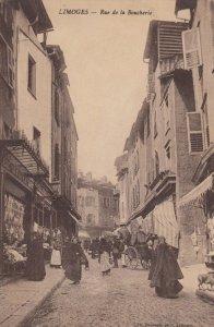 LIMOGES , France, 1900-10s ; Rue de la Boucherie