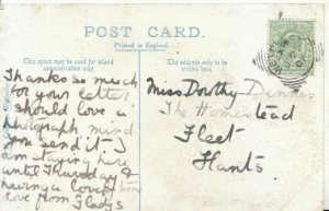 Genealogy Postcard - Dorothy Dennis - The Homestead - Fleet - Hants - Ref 9551A