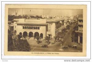 Casablanca, Morocco, 20-30s, L'Hotel des postes
