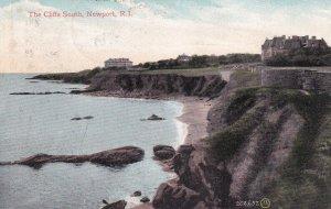 NEWPORT, Rhode Island, PU-1909; The Cliffs South