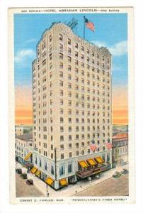 Hotel Abraham Lincoln, Reading, Pennsylvania, PU-1936