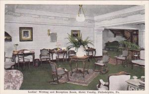 Pennsylvania Philadelphia Ladies Writing And Reception Room Hotel Vendig