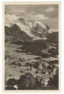 RP  The Wengernalpbahn, Switzerland, 00-10s : Wengen mit Jungfrau