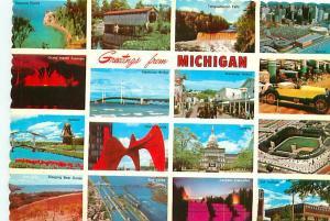 Postcard Great Smokey Mountains Greetings National Park Clingmans  # 2891A