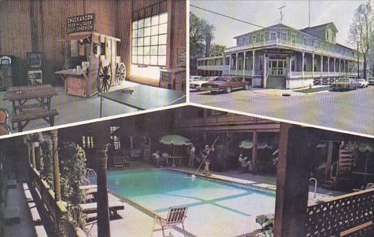 Illinois Okawville Original Mineral Springs Hotel Bath House