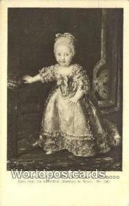 Wien, Vienna Austria, Österreich R Mengs Die Infatin maria Theresia  R Mengs...