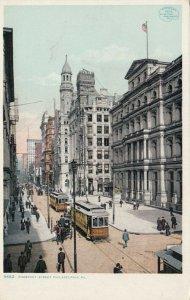 PHILADELPHIA, Pennsylvania , 1900-10s; Chestnut Street