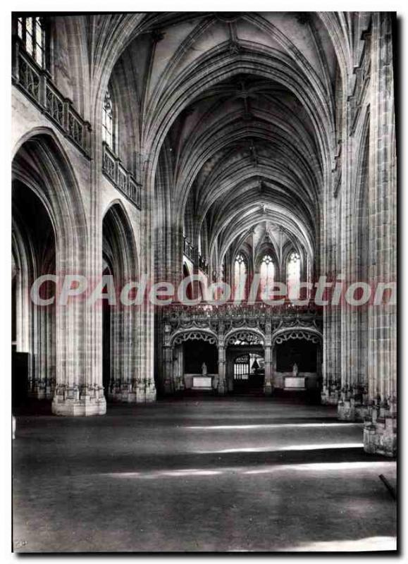 Modern Postcard Bourg En Bresse Eglise De Brou