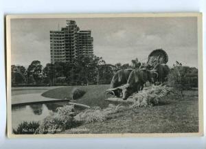 192213 Uruguay MONTOVIDEO La Carreta Vintage photo postcard