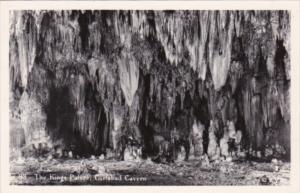 New Mexico Carlsbad Cavern The Kings Palace Real Photo