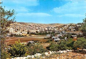 Jordan Old Vintage Antique Post Card General View Hebron Unused