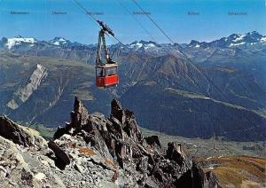 Switzerland Luftseilbahn Fiesch-Eggishorn Wallis Cable Car Mountains