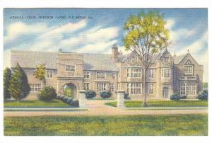 Exterior, Virginia House, Windsor Farms, Richmond, Virginia,  30-40s