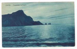 Capri - Tramonto sull'Isola, Italy, 00-10s