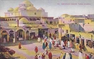 Africa Tunisia Tunis Bab Sujka Square