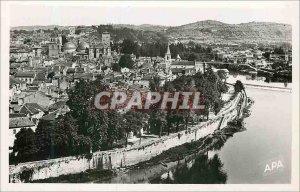 Modern Postcard I cahors lot General view
