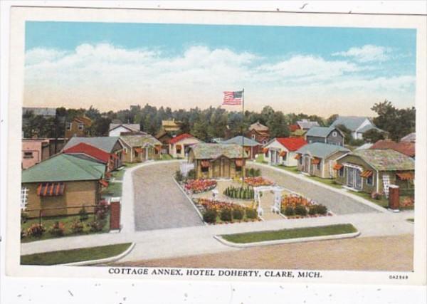 Michigan Clare Hotel Doherty Cottage Annex Curteich
