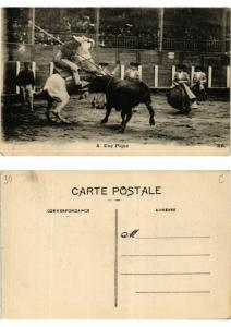 CPA Bullfighting - Une Pique (776039)