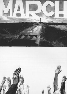 1963 Black Rights Power Equality March SNCC 2x Postcard s