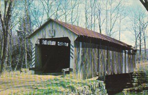 Johnny Little Covered Bridge Licking County Ohio