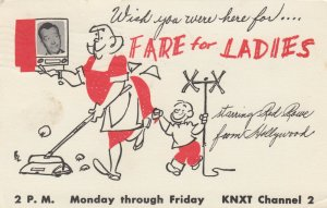 LOS ANGELES, California, 1957; Fare for Ladies, on KNXT Channel 2