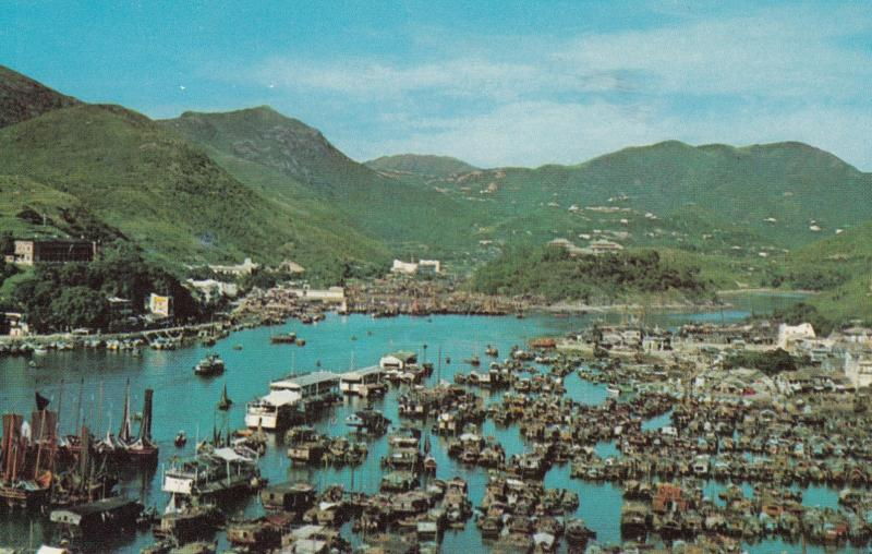 Aberdeen , Hong Kong , China , 50-60s