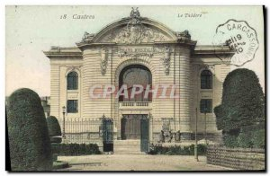 Old Postcard The Theater Castres