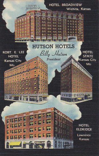 Hutson Hotels Kansas and Missouri Billy Hutson President
