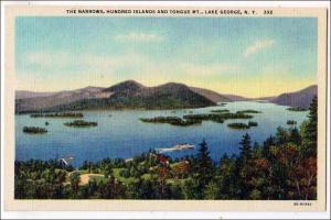 Narrows, 100 Islands & Tongue MT. Lake George NY