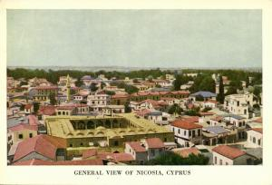 cyprus, NICOSIA, General View (1960s)