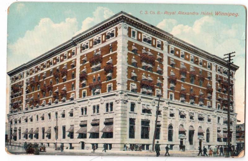 C.S.Co. 8 - Royal Alexandra Hotel, Winnipeg