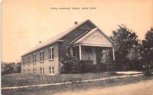 Peru Grange New York