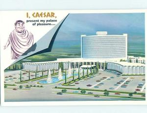Pre-1980 CAESAR'S PALACE CASINO HOTEL Las Vegas Nevada NV G9871-12