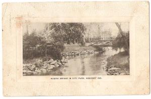 Post Card 1909 Indiana