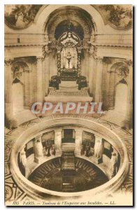 Old Postcard Paris Tomb of the Emperor at the Invalides