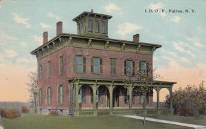 I. O. O. F., FULTON, New York, PU-1918
